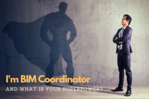 BIM Coordinator as a superhero