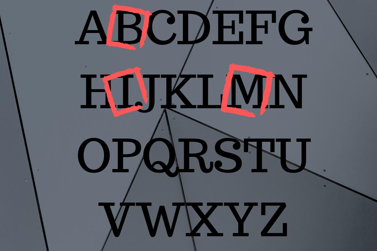 BIM letters