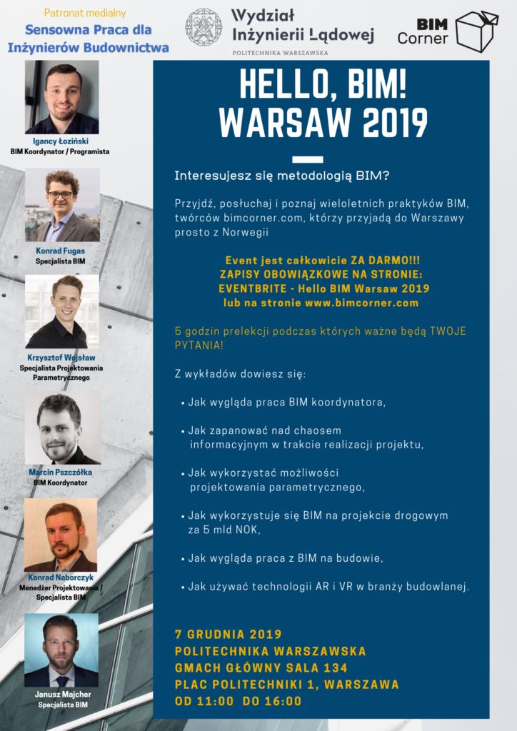 Hello BIM Warsaw