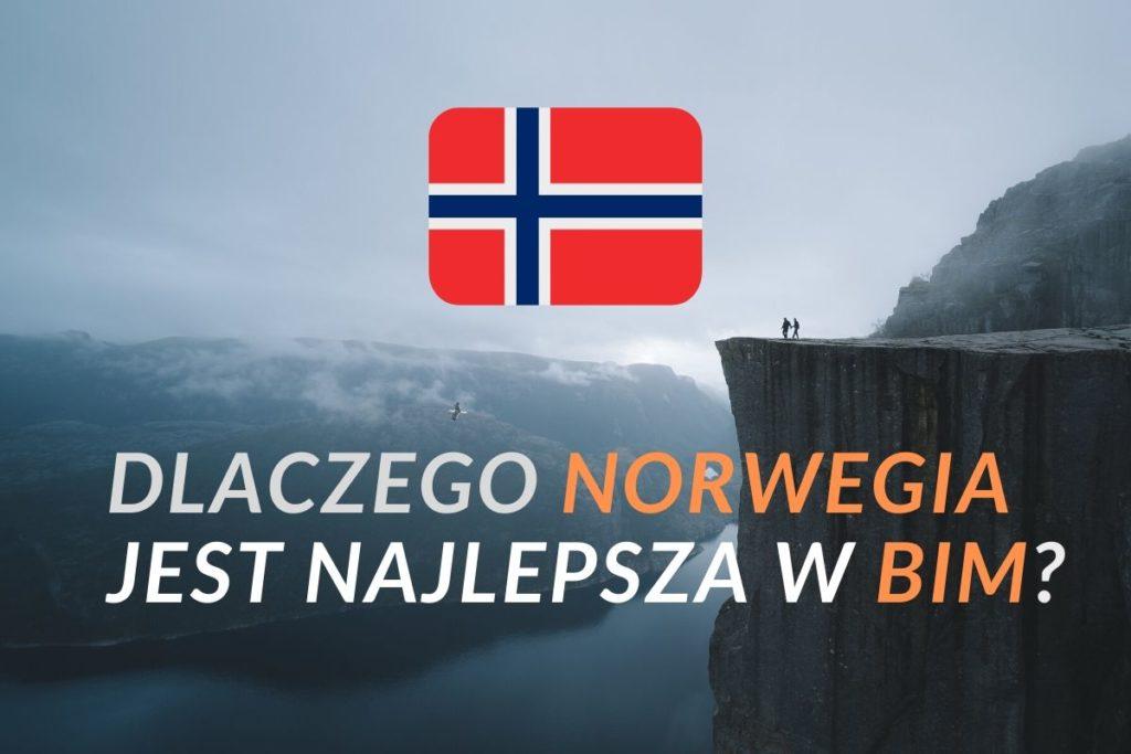 Dlaczego Norwegia jest najlepsza BIM, poziom BIM w Norwegii