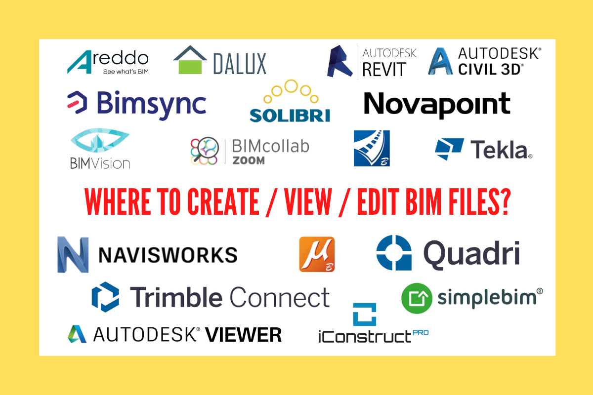 Which BIM software to use? TOP LIST