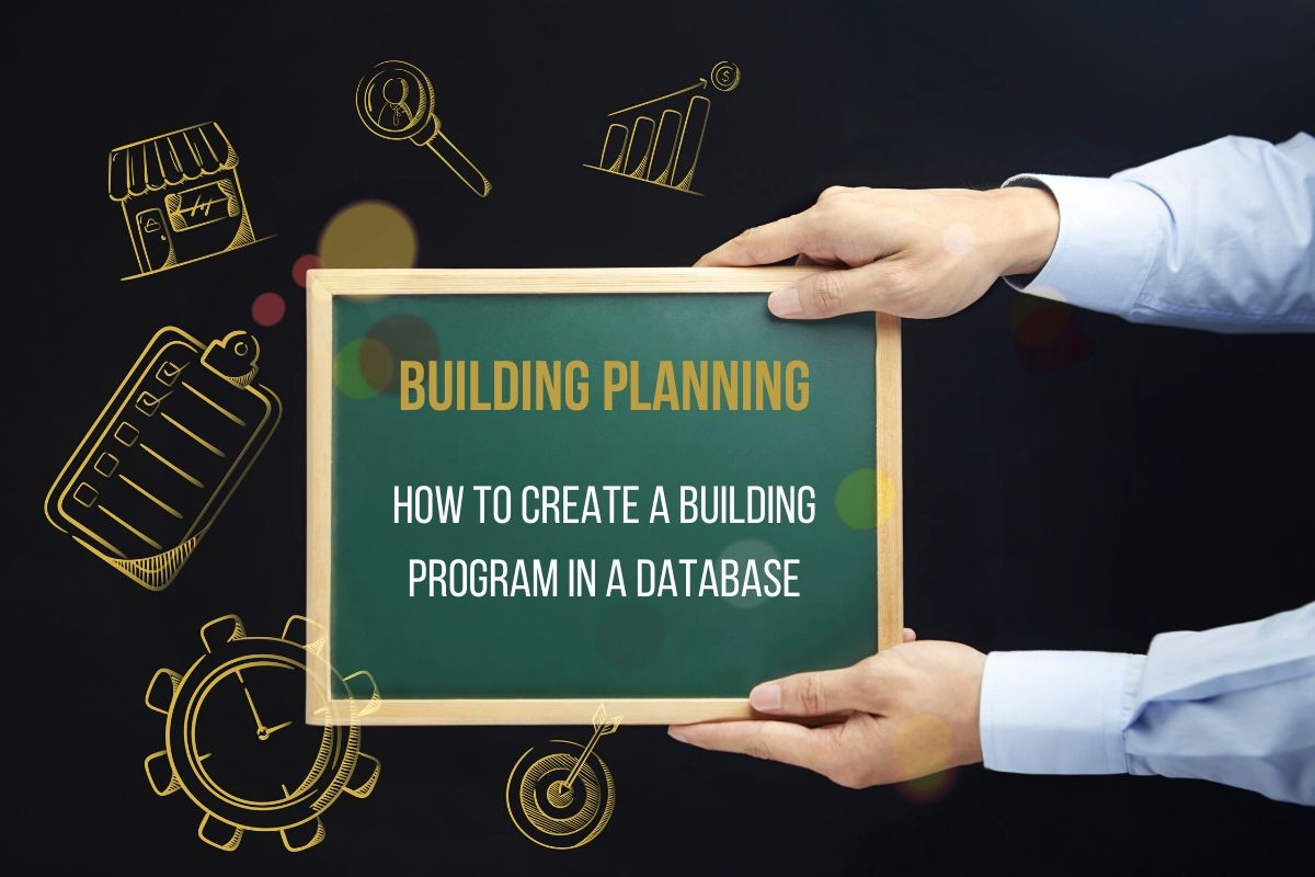 How to create a Building Program​ in a database