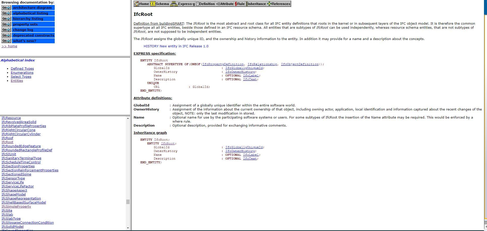 ifc database