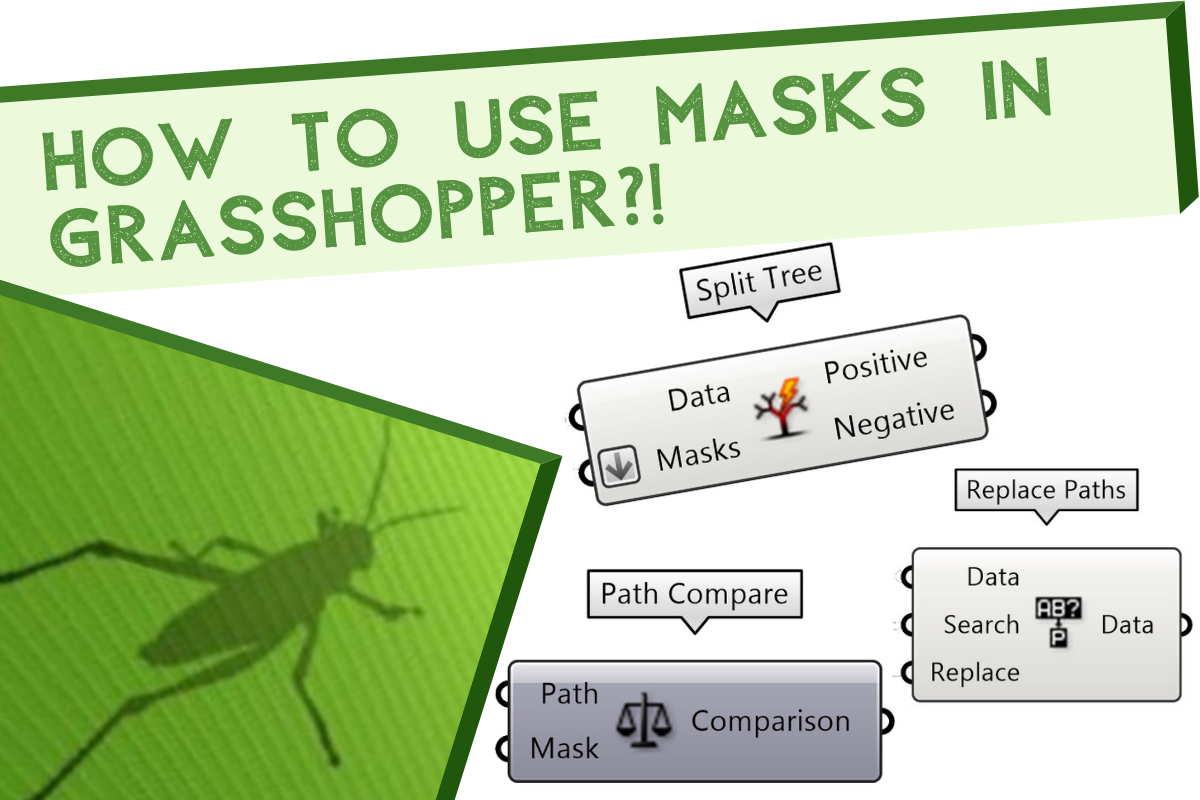 How to use masks in grasshopper for data tree?!