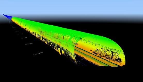 BIM data in tunnels