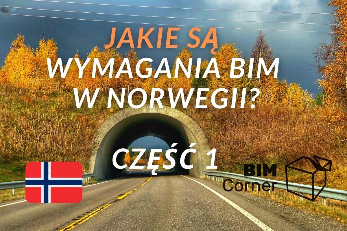 BIM wymagania Norwegia
