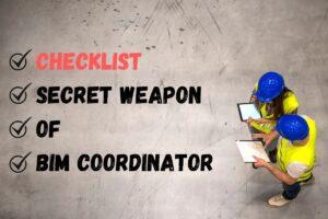 BIM Coordinator checklist