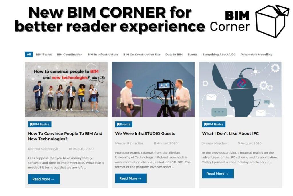 Nowa strona BIM Corner