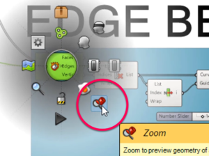 Zoom Selected in Grasshopper