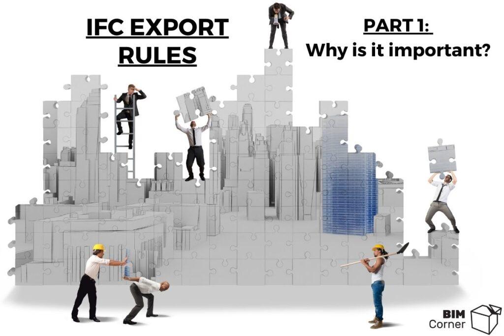 IFC Export rules part 1