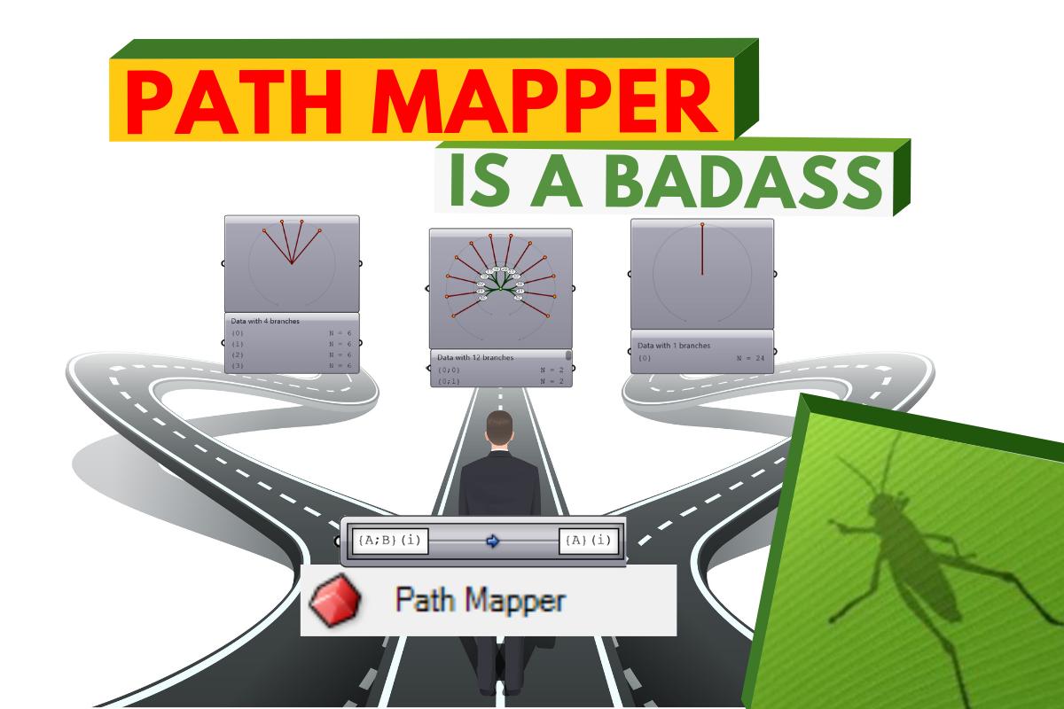 Grasshopper Data Tree – Path Mapper is a BADASS