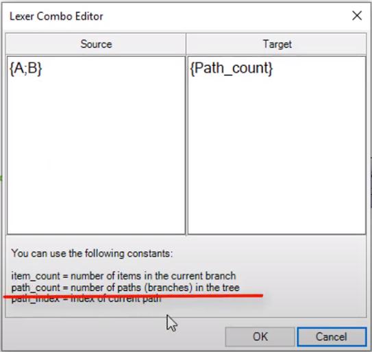 Patch count Path Mapper