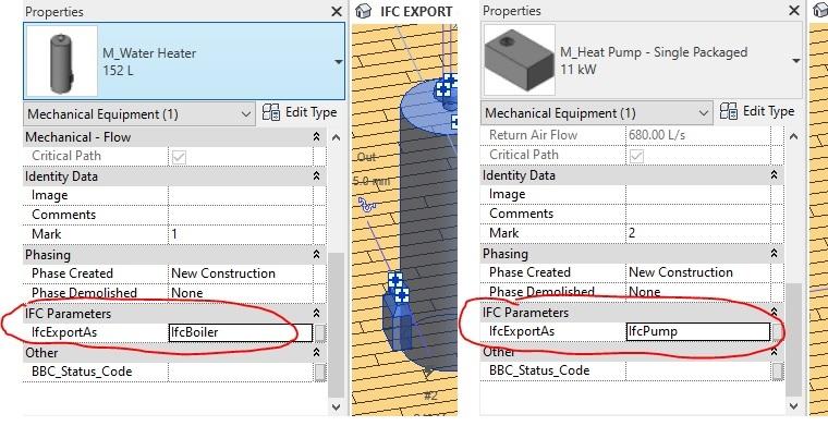 Ifc Export As parameter